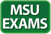 MSU Exams