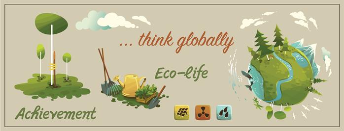 Eco-Life Think Globally
